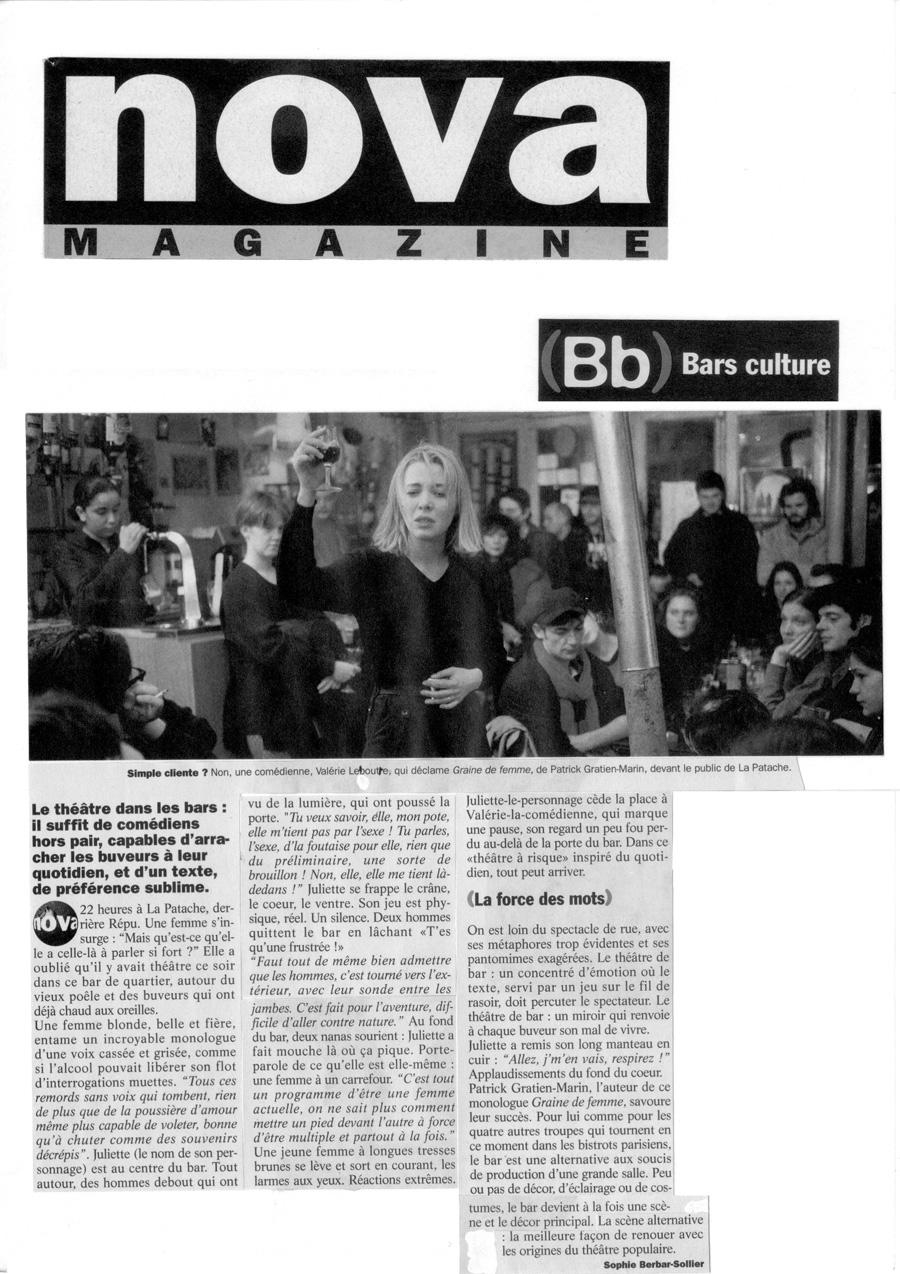 Graine de Femme - Nova Magazine