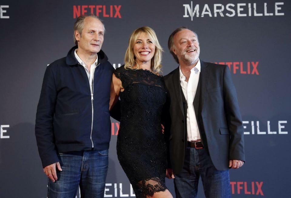 Avant-première Netflix - Valérie Leboutte, Hypolite Girardot, Pascal Elso